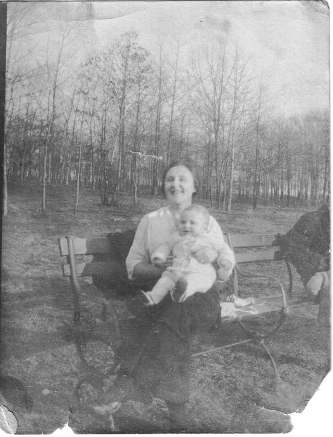 My grandmother Rose Benjamin who I never met with my dad.