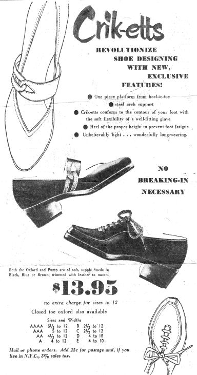 Criketts AD - Revolutionize Shoe