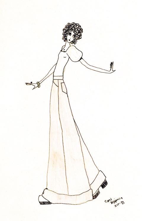 Drawing by Carol Benjamin