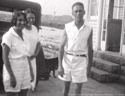Still from Family Film Footage.  Somewhere in Long Island