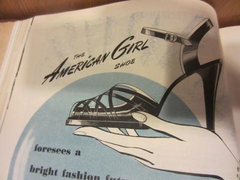 American Girl Shoe 1951
