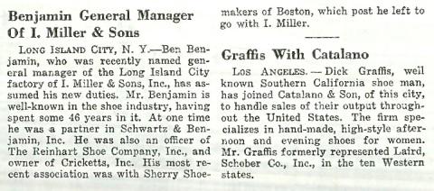 Benjamin General Manager I. Miller
