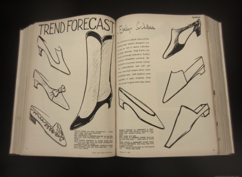 Trend Forcast, Boot and Shoe Recorder 1964