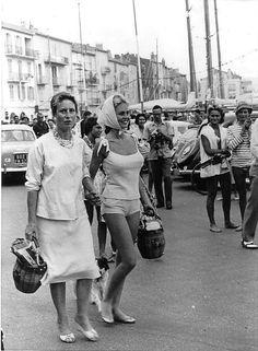 Brigitte Bardot, St. Tropez