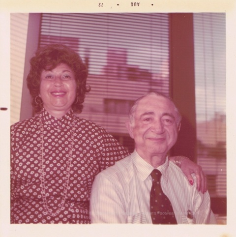 Bebe Schwartz and Ben Schwartz 1972