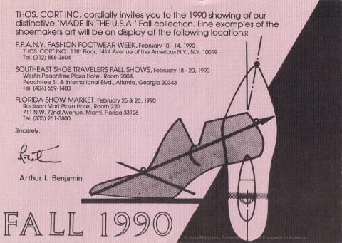 Fall 1990 - Shoe Shows