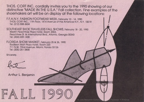 Fall 1990 - Shoe Shows