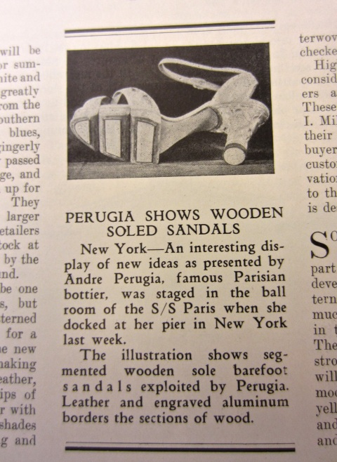 Andre Perugia - Wooden Sole