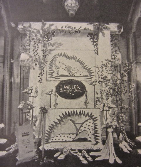 I.Miller Window Display Houston,Texas 1929