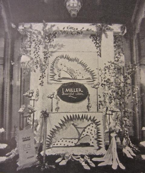 I.Miller Window Display Houston,Texas 1929