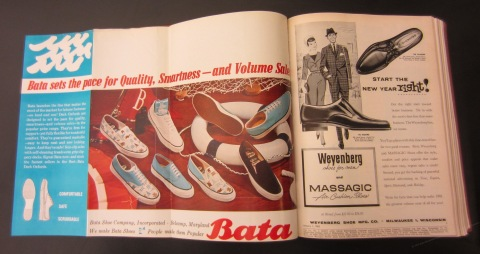 Boot and Shoe Recorder 1961 - Bata