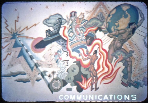 Communications Building 1939 World's Fair copy