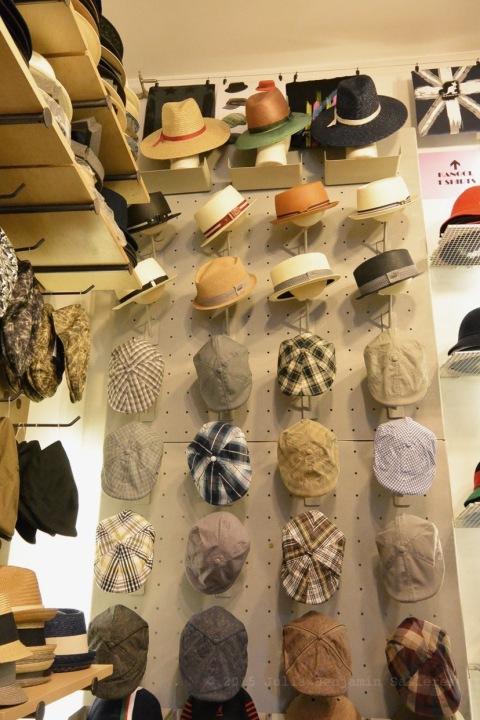 Kangol Hats Wall