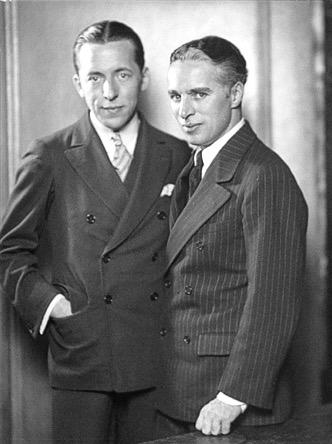 Ralph Barton and Charlie Chaplin.