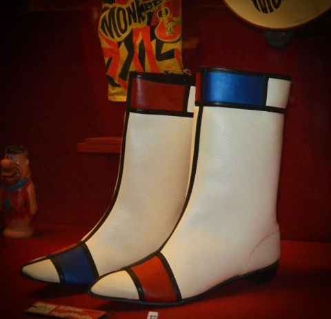 Hullabaloo High Brow Boots, c 1965, Museum of the Moving Image New York.