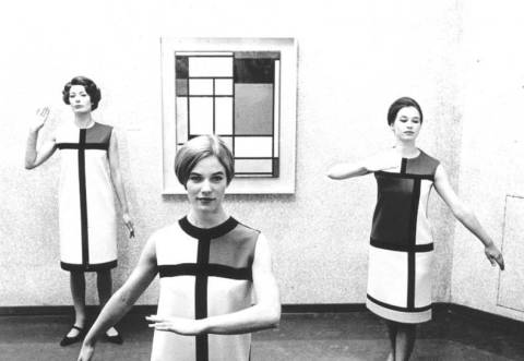 Mondrian Inspired Dresses, Yves Saint Laurent.